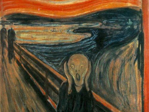 """""""L'urlo"""" di Munch"""