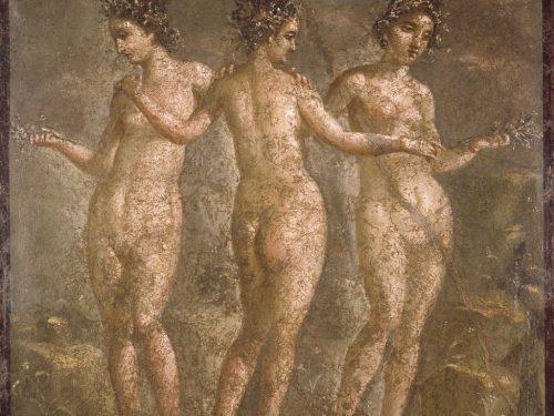 Le tre Grazie nell'arte