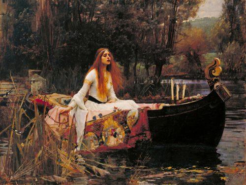 La dama di Shalott tra leggenda, arte e poesia