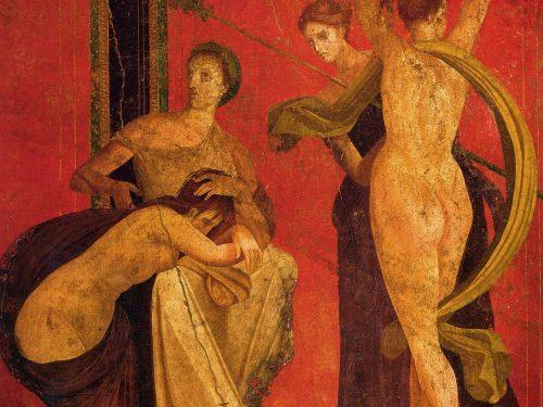La megalografia della Villa dei Misteri a Pompei
