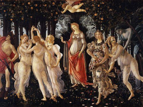 """La """"Primavera"""" di Sandro Botticelli"""